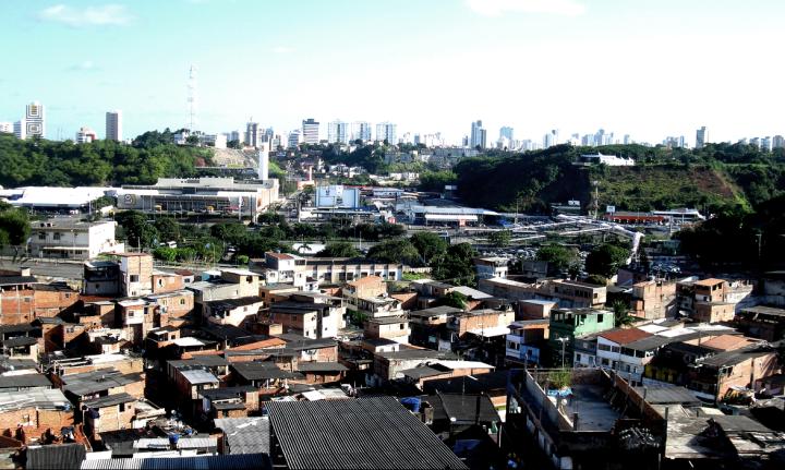 Comunidade de Saramandaia em Salvador: risco de remoção (foto: Eric das Virgens)