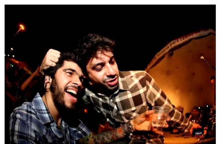 Victor Balde e Edézio Aragão no ZONS bem-sucedido de 2013. O que eles aprontaram dessa vez?