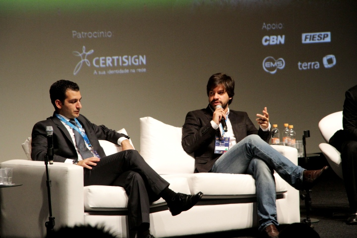 Pedro Daniel (BDO Consultoria) e Ricardo Borges Martins (Bom Senso FC): discursos destoantes, mas nenhuma menção aos direitos do torcedor