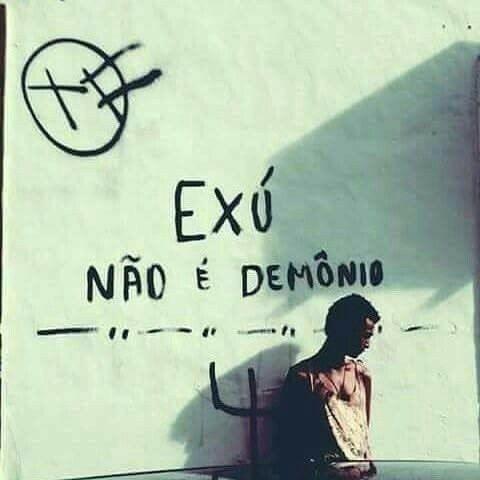 exu não é demônio