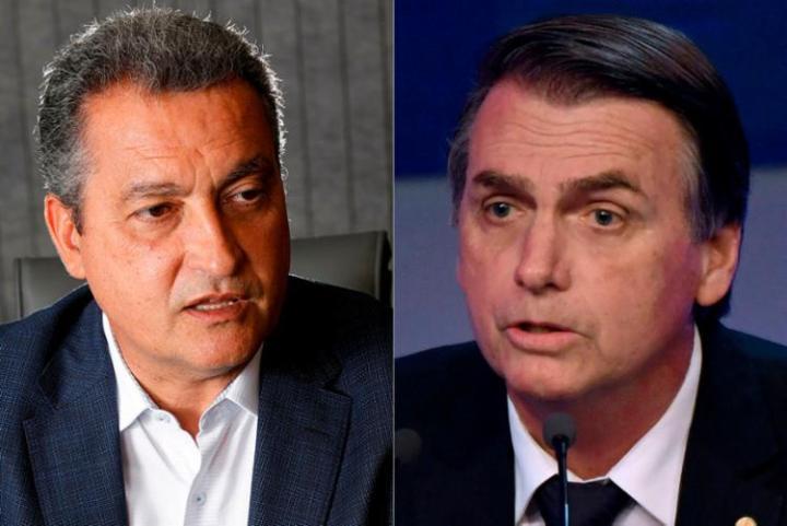 Rui Costa e Bolsonaro